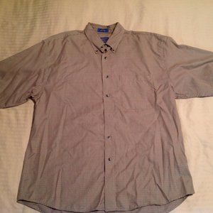 Pendleton Men's S/S Shirt 100% Cotton Size L GUC